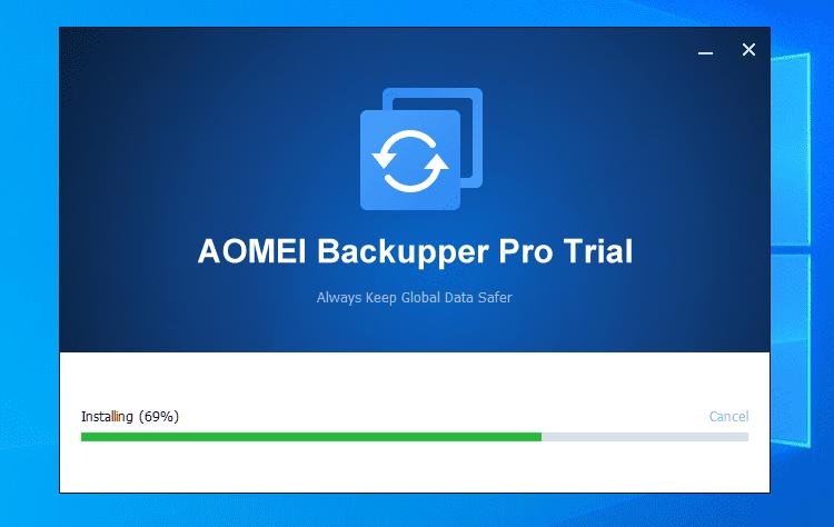 Πλήρες Windows Backup Image με το AOMEI Backupper Pro 1 (2)