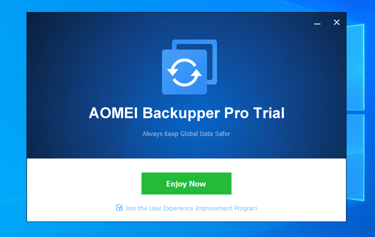 Πλήρες Windows Backup Image με το AOMEI Backupper professional 1 (3)