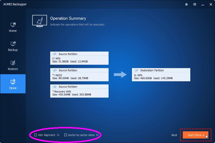Πλήρες Windows Backup Image με το AOMEI Backupper professional 20ααα