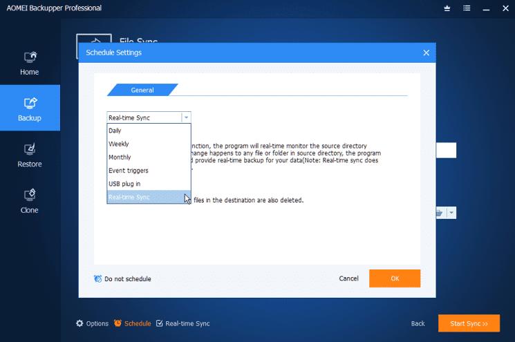 Πλήρες Windows Backup Image με το AOMEI Backupper professional 26α