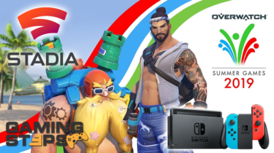 Nintendo Switch, Overwatch Summer Games 2019, Google Stadia Pro