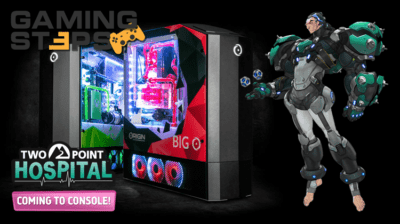 GamingSteps#20190726 - Origin Big O, Overwatch Sigma, Two Point Hospital Σε Κονσόλες