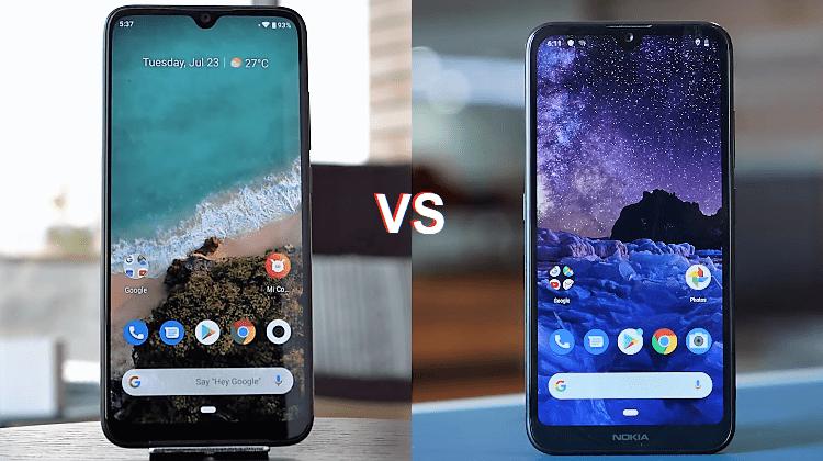 Σύγκριση Android One: Xiaomi Mi A3 vs Nokia 2.2