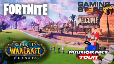 GamingSteps#20190830 - World of Warcraft Classic, Fortnite X Mayhem, Mario Kart Tour