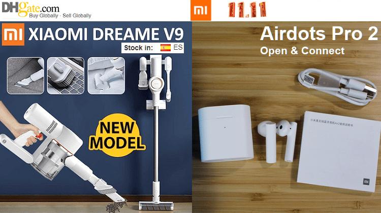 Τιμές Χονδρικής Στα Νέα Xiaomi Airdots Pro 2 & Dreame V9 - 4 Σε 1