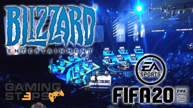 GamingSteps#20191109 - Στημένα Παιχνίδια FIFA 20, Κινά vs Gaming, Απολογία Blizzard
