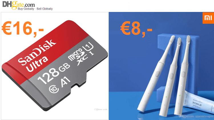 Τιμές Χονδρικής Στις Xiaomi Sonic IPX7 & SanDisk Ultra 128GB (Για 14/11)