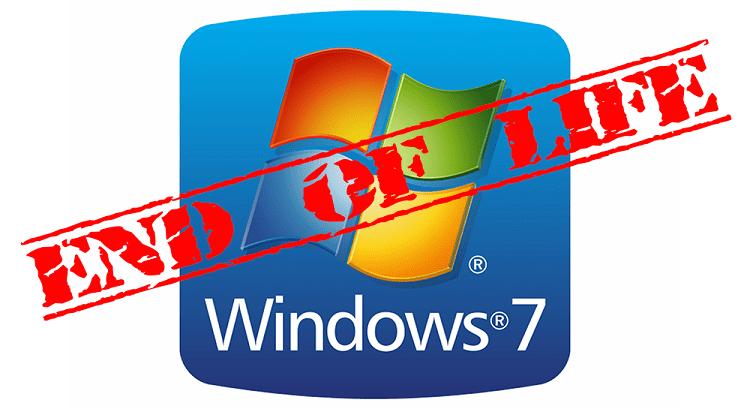 Λήξη Της Υποστήριξης Στα Windows 7 1