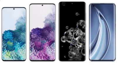 Σύγκριση High-End: Xiaomi Mi 10/Pro VS Samsung Galaxy S20/Plus/Ultra