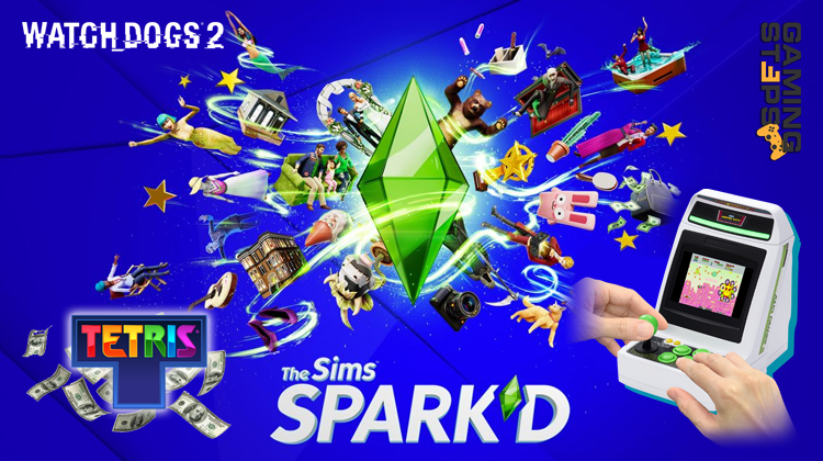 GamingSteps#20200711 - The Sims Spark'd, Λεφτά Με Το Tetris Primetime, Astro City Mini