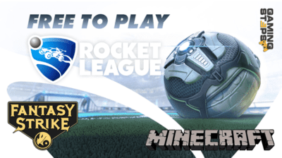 GamingSteps#20200725 - GamingSteps#20200725 - Free To Play Rocket League Και Fantasy Strike, Minecraft@Home