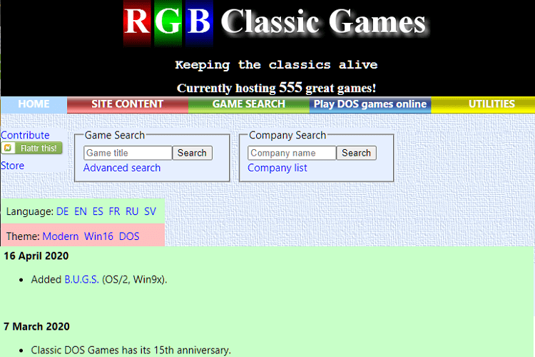 Site Για Κατέβασμα Παιχνιδιών: Παλιά Παιχνίδια Δωρεάν Και Νόμιμα