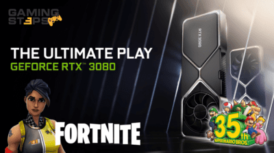 GamingSteps#20200905 - Fortnite Crazy Taxi, Super Mario Battle Royale, Nvidia RTX 3000
