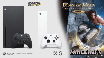 GamingSteps#20200912 - Xbox Series X και S, Minecraft PSVR, Prince of Persia The Sands of Time