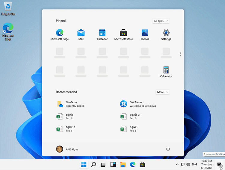 Windows 11 5αα