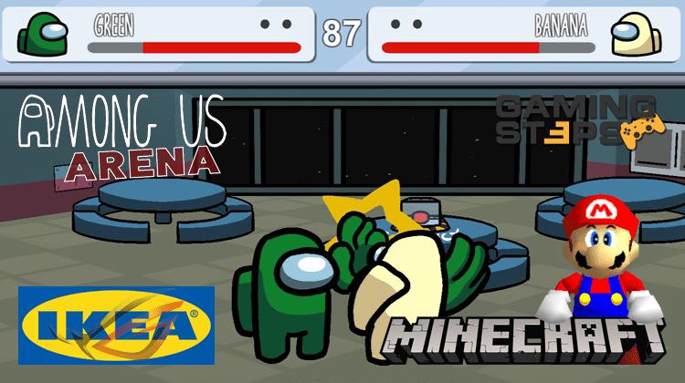Gaming Προϊόντα ΙΚΕΑ, Mario 64 Στο Minecraft, Among Us Arena