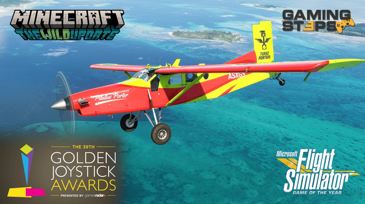 GamingSteps#20211022 - Δωρεάν Flight Simulator GOTY, Minecraft The Wild, Golden Joystick Awards 2021