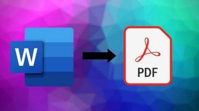 Μετατροπή Word σε PDF Online, Δωρεάν, Mε 3 Mόνο Kλικ