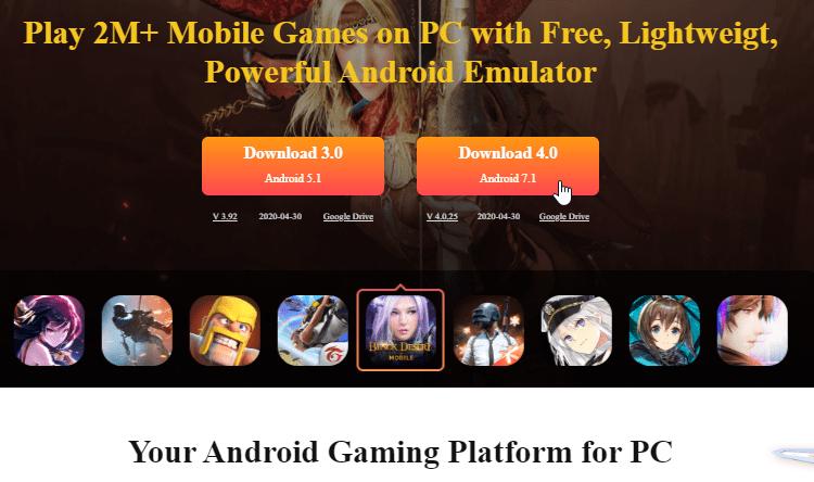 Παιχνίδια Android Στο PC 20αα