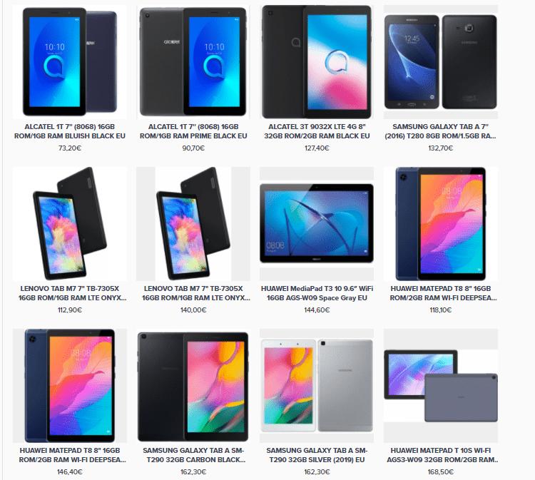 Αγορά Tablet 27h