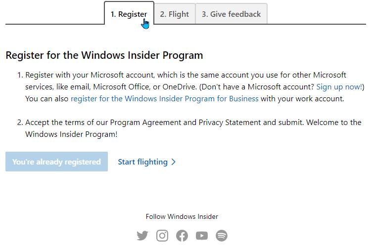 κατέβασμα Windows 1mμn