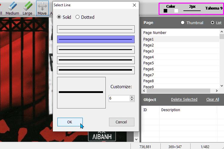 Επεξεργασία PDF 3μμμ