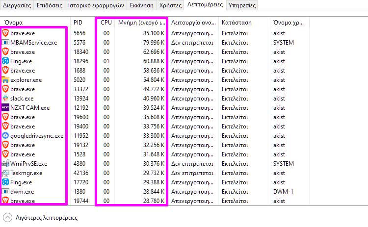 εκκίνηση προγραμμάτων 1μμμ