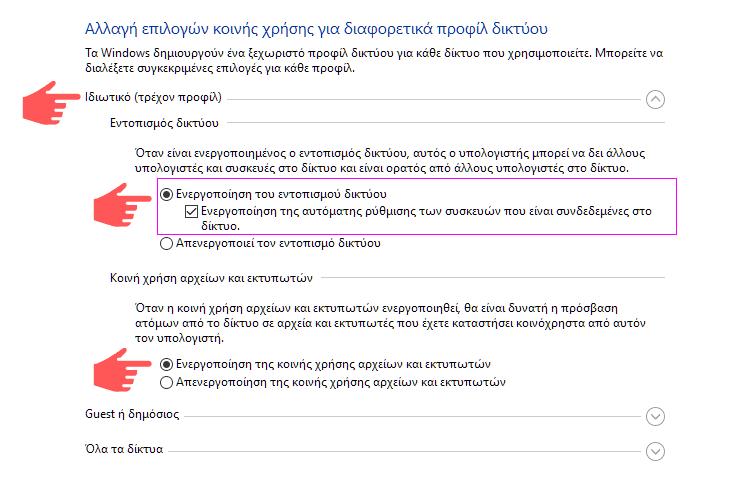Δίκτυο Υπολογιστών Στο Σπίτι Με Windows 4α