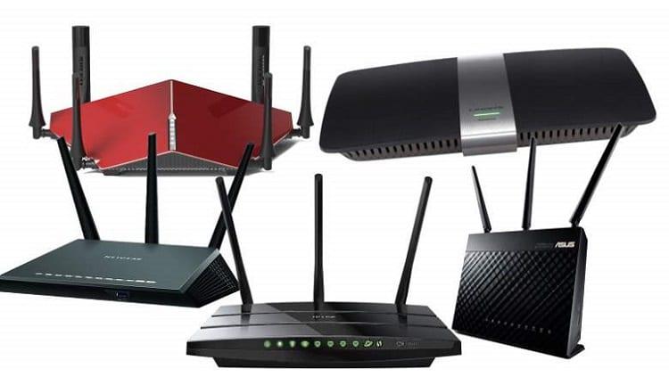 τοπικό δίκτυο μέσω router