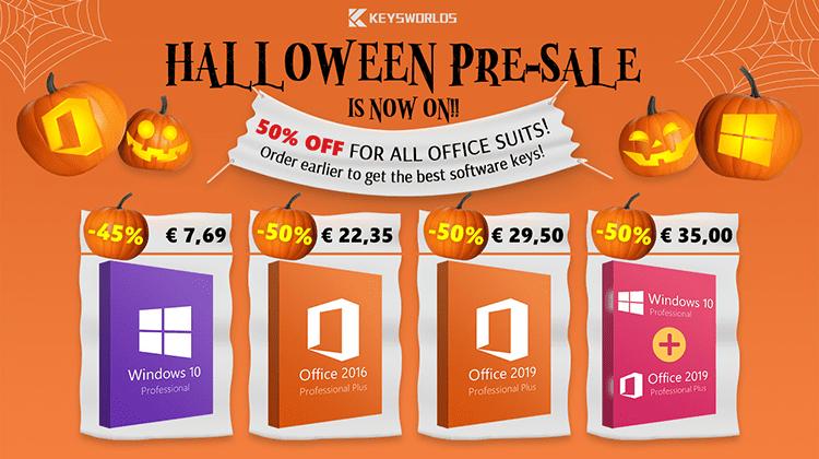 Windows 10 στα 5.2€ και Όλα τα Office στη Μισή Τιμή