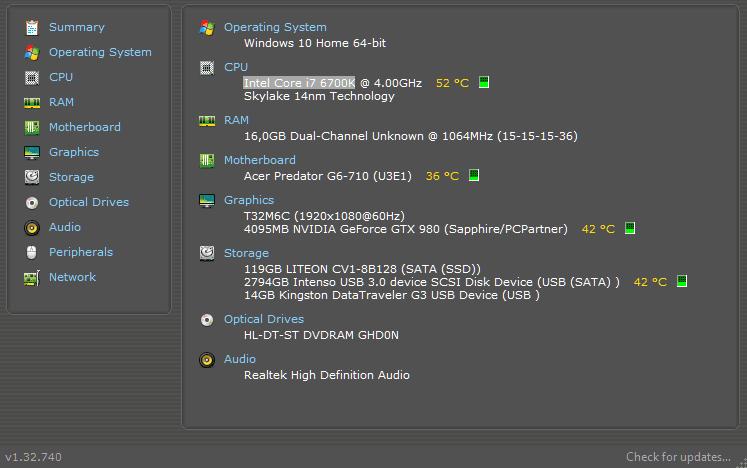 Θερμοκρασία Υπολογιστή 2μ