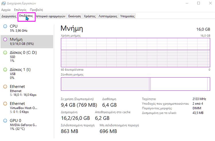 Πώς Βρίσκω Τι Μνήμη RAM Έχω και έλεγχος μνήμης ram 6λλλλλ