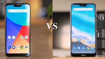 Σύγκριση Android One Κινητών: Xiaomi Mi A2 Lite vs Nokia 7.1