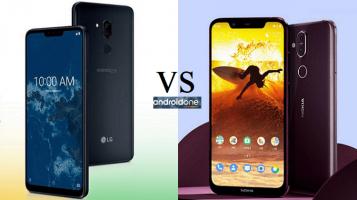 Σύγκριση Android One: LG G7 One vs Nokia 8.1