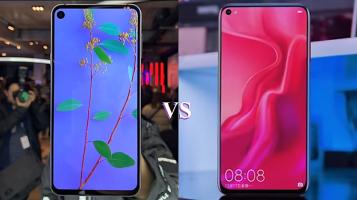 Infinity O: Huawei Nova 4 vs Samsung Galaxy A8s