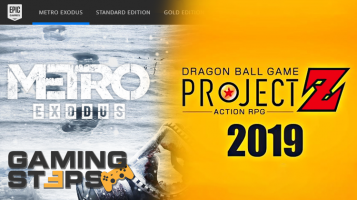 Metro Exodus μόνο στο Epic Games Store, Dragon Ball Z Project Z RPG