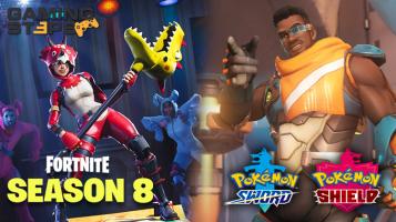 GamingSteps#20190302 - Fortnite Σεζόν 8, Overwatch Baptiste, Pokemon Sword και Pokemon Shield