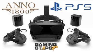 GamingSteps#20190504 - Τα Πάντα Για το Valve Index, Anno 1800, PlayStation 5 Το 2020